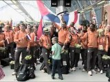 Olympic Teams Wave Farewell to London 2012 From St Pancras International (English)