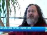 Richard Stallman, pape du logiciel libre