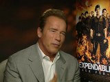Arnold Schwarzenegger says acting helped politics