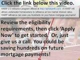 HARP refinance - HARP 2.0 refi solutions for Fannie Mae & Freddie Mac loans