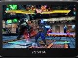 Street Fighter x Tekken PS Vita gameplay trailer 2 Gamescom 2012