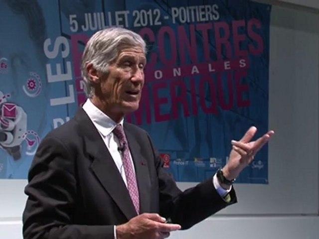 Keynote - Joël De Rosnay - Rencontres Nationales du Numérique 2012