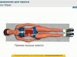 САМОЕ эффективное упражнение для пресса - Floor Wiper