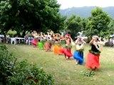 Henua Haka danse chez Rose Corsaire 2de2