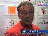"Top 14 / Guy Novès : ""Fier de mes gars"""