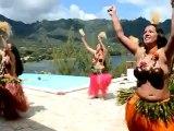 Henua Haka danse au Pearl Lodge 9de16