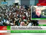 Friends In Greed: 'Qatar-US synergy could work again with Syria'
