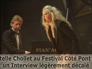 Christelle Chollet, un Interview légèrement décalé - L'Entubée -  live sur Seyne au Festival Côté Pont 2012