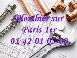 Plombier sur Paris 1er 01 40 18 40 40 Plomberie plombier 75001