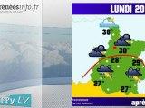 H'Py Tv Meteo Hautes Pyrenees (20 aout 2012)