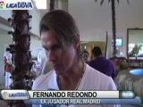 Deportes / Fútbol; Redondo: 'Qué bueno que Messi sea argentino'
