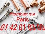 Plombier pas cher Paris 01 40 18 40 40  Plomberie plombier 75