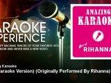 Amazing Karaoke - Sos (Karaoke Version) - Originally Performed By Rihanna - KaraokeExperience