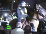 Anarchy in UK: Video of angry London riots as students fight cuts