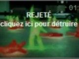Snickers - Don't Stop - vert vs rouge (rejeté)