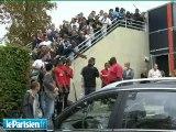 PSG : Pauleta en visite à l'entraînement
