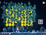 Vidéo de New Super Mario Bros. 2 sur 3DS montrant le cheminement intégral et présentant toutes les pièces étoiles du niveau 4-A.