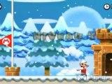 Vidéo de New Super Mario Bros. 2 sur 3DS montrant le cheminement intégral et présentant toutes les pièces étoiles du niveau 4-1.