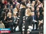 Défilé Chanel : Karl, Claudia et des talons aiguilles