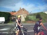 Run and bike de Luingne - arrivée étape 1 ensemble
