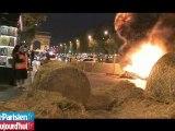 Comment les agriculteurs ont bloqué les Champs-Elysées