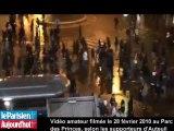 PSG : vidéo amateur d'affrontements entre Auteuil et Boulogne