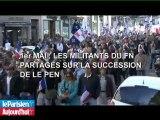 1er mai : les militants du FN partagés sur la succession de Le pen