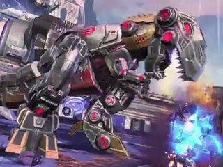 Launch Trailer de Transformers : Fall of Cybertron