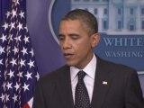 Obama Draws Red Line over The Use of Chemical Weapons in Syria