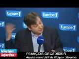 """Zapping des Matinales du 5 avril 2011: """"Le projet des socialistes date du siècle précédent"""""""