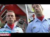 Au coeur du défilé avec les sapeurs-pompiers