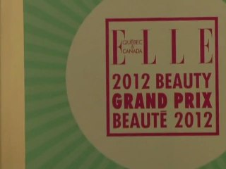 ELLE Canada at the 2012 Beauty Grand Prix Awards