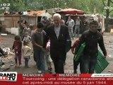 Explusions de Roms : Martine Aubry s'explique (Villeneuve d'Ascq)