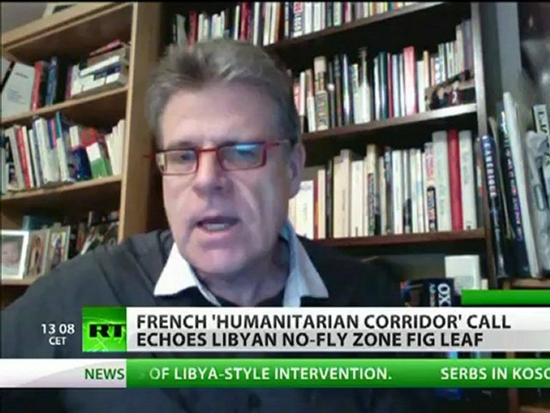 French Bloodthirst: Sarkozy wants Syria