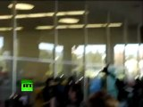 Occupy Oakland general strike video: 'Black bloc' attacks Bank of America