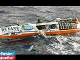 Transatlantique à la rame : «C'est incroyable que le bateau résiste»