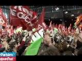 En meeting à la Porte de Versailles, Mélenchon fait vibrer ses militants