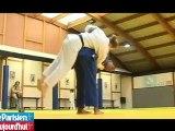 Leçon de judo avec Audrey Tcheuméo
