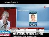Marion Maréchal-Le Pen se veut «porte-parole de la jeunesse»