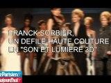 Franck Sorbier, un défilé haute couture en 3D