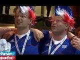JO : le relais en or, le Club France en liesse