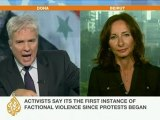 Rula Amin explains Homs weekend violence