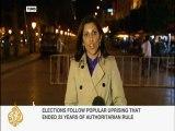 Nazanine Moshiri updates from Tunisia