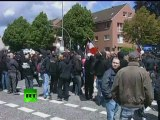 Anti-Nazi protest: Video of clashes, police detain 700 in Germany