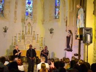 """Festival Gospel """"Happy Days Gospel"""" 2012 à Soucirac avec Vocal Colors"""