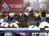 Capriles presentó plan para personas con discapacidad