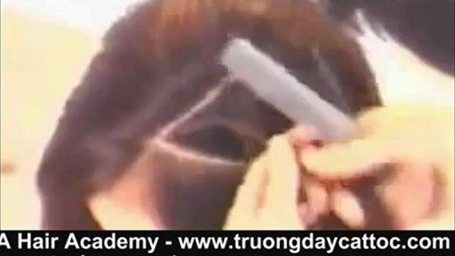 Dạy cắt tóc bob, dạy cắt đầu bob nữ cơ bản ở hà nội  www.truongdaycattoc.com