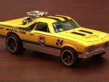 CGR Garage - YELLOW '68 EL CAMINO Hot Wheels review