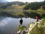 chute au lac