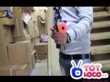 www.toyloco.co.uk TD2021 Electric Silenced G36 W/ Working Flashlight Battery Operated Toy Gun